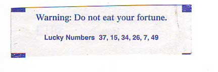 Do Not Eat Fortune!