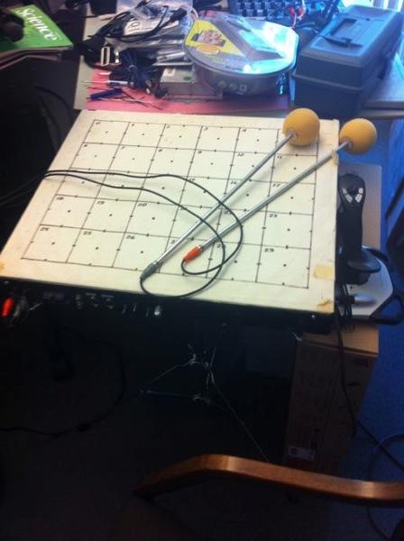 Radio baton
