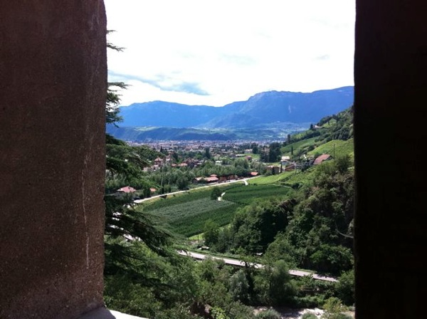 Valley from castle