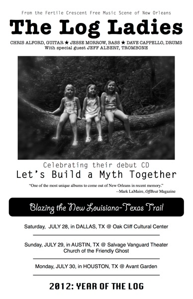 Log ladies flyer tx tour july 2012